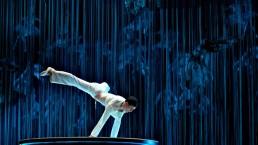 Des acrobates virtuels sont ajoutés au décor. (Photo: Cirque du Soleil)