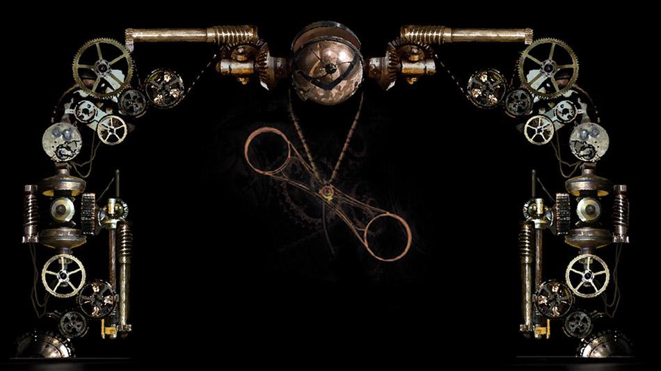 Design préliminaire pour le décor vidéo de la roue de la mort. (Image: Fly Studio)