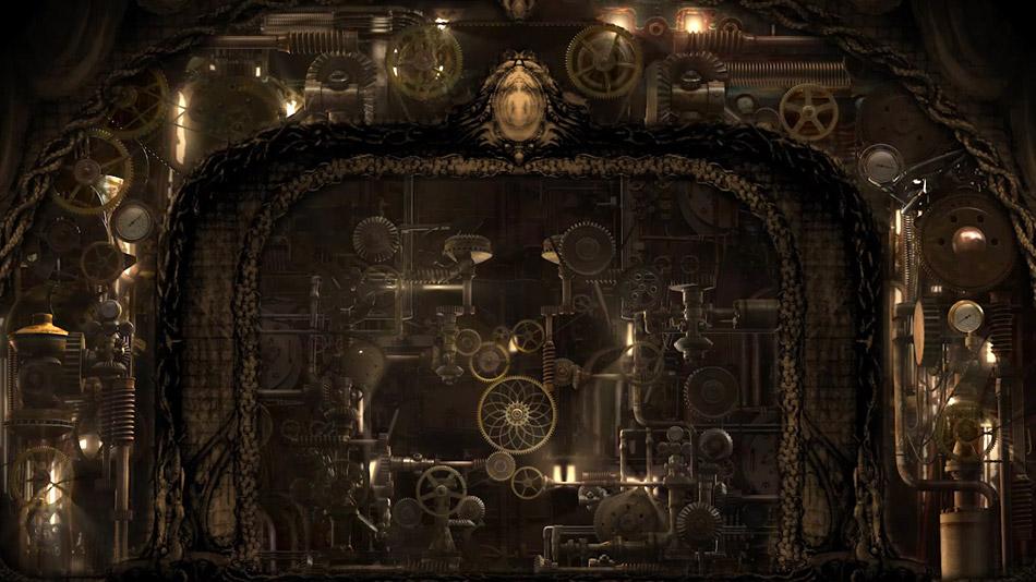 Design 3D final du décor vidéo de la roue de la mort. (Image: Fly Studio)