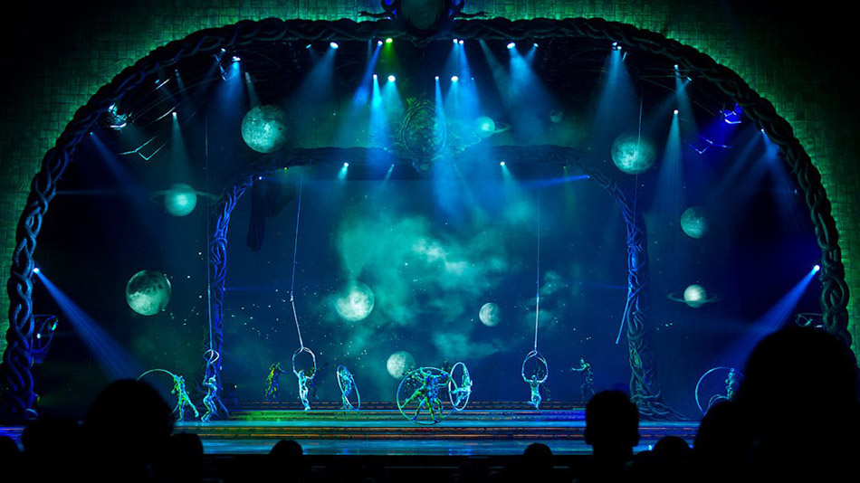Virtual voyage in the Jovians universe. (Photo: Cirque du Soleil)