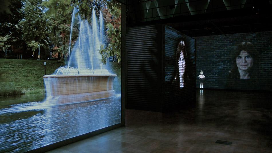 L'environnement sonore de l'exposition a été conçu par Gaëtan Gravel.